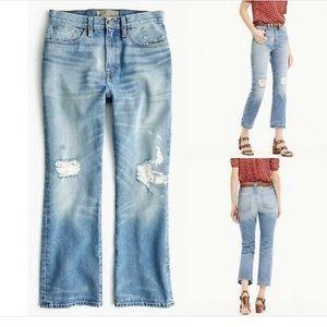 J. Crew Point Sur Stevie X Rocker Jeans